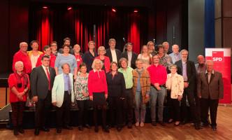 Alle versammelt: Ihre Kandidatinnen und Kandidaten für den Haarer Gemeinderat.