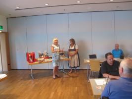 Die Siegerehrung übernahmen Bürgermeisterin Gabriele Müller und die stellv. Landrätin Annette Ganssmüller-Maluche