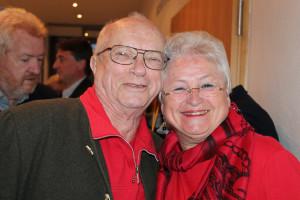 Artur Huber und Renate Behrend