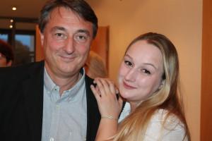 Starkes Vater-Tochter Gespann: Martin und Nadine Metzger