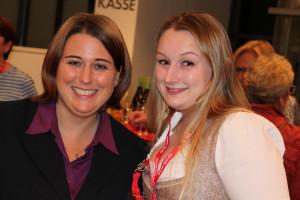 Katharina Dworzak und Nadine Metzger