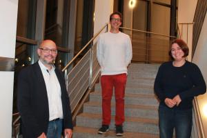 Das neue Führungstrio: Mark Brassinga (Vorsitzender) und seine Stellvertreter Carsten Dieckmann und Katharina Dworzak