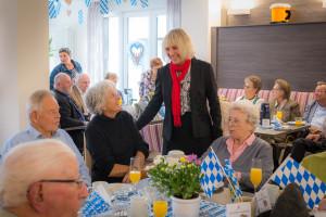 Gelungener Umzug: Die Senioren sind gut im neuen Maria-Stadler-Haus angekommen.