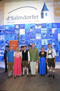 Die 1000-Jahr Feier in Salmdorf zeigt gelebtes Brauchtum.