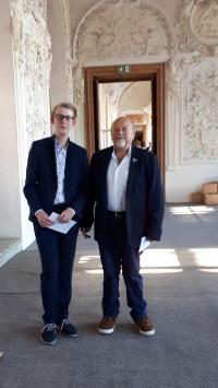 Raul Würfl und Peter Bock